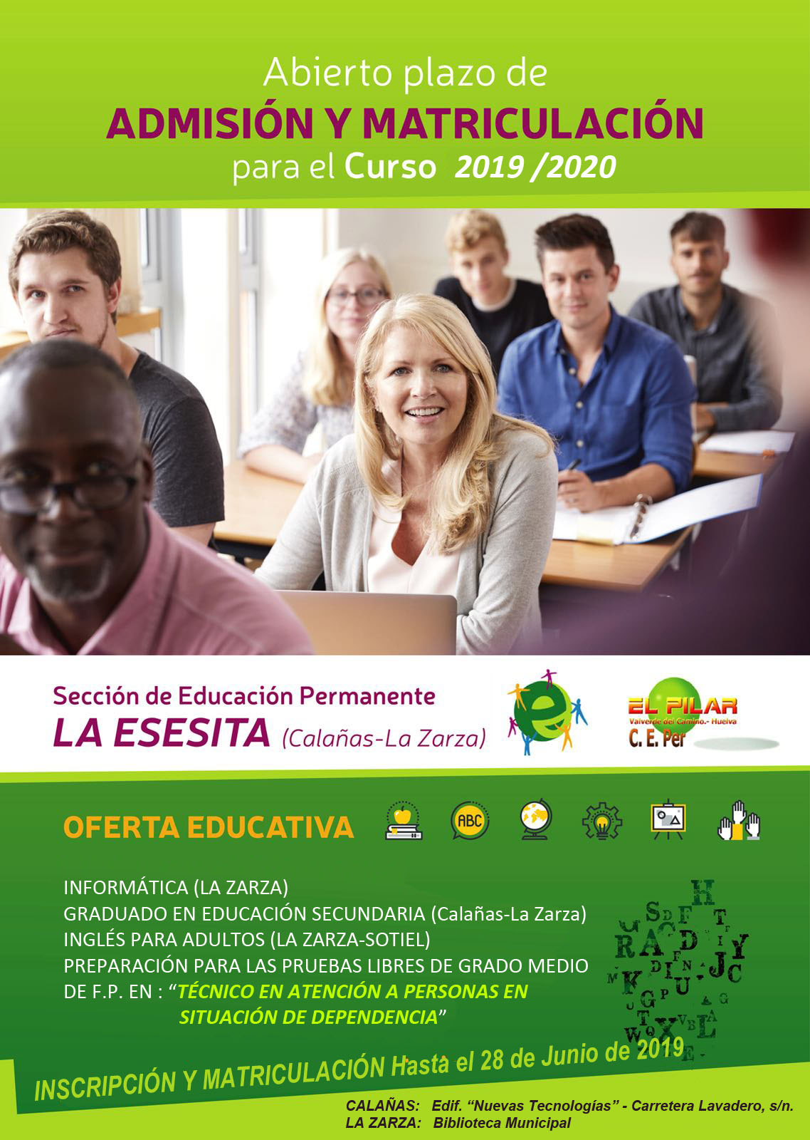Cartel Oferta Educativa